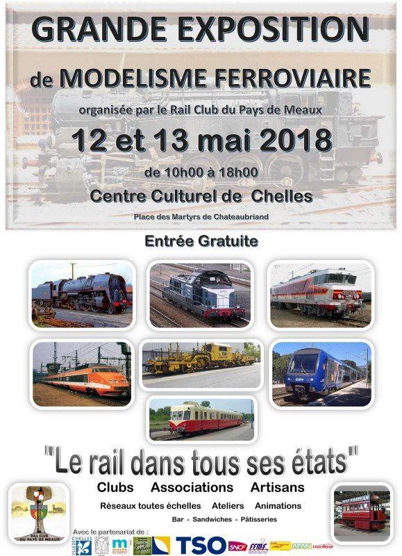 Exposition de modélisme ferroviaire à Chelles (77).