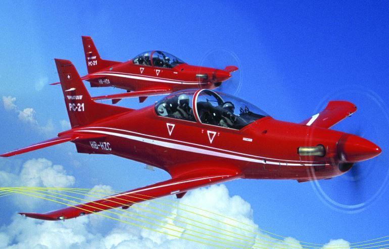 Mystère IV, Pilatus PC21, T33, Alpha Jet