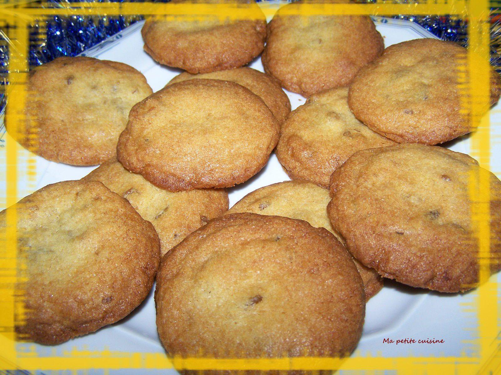 Cookies aux marrons glacés