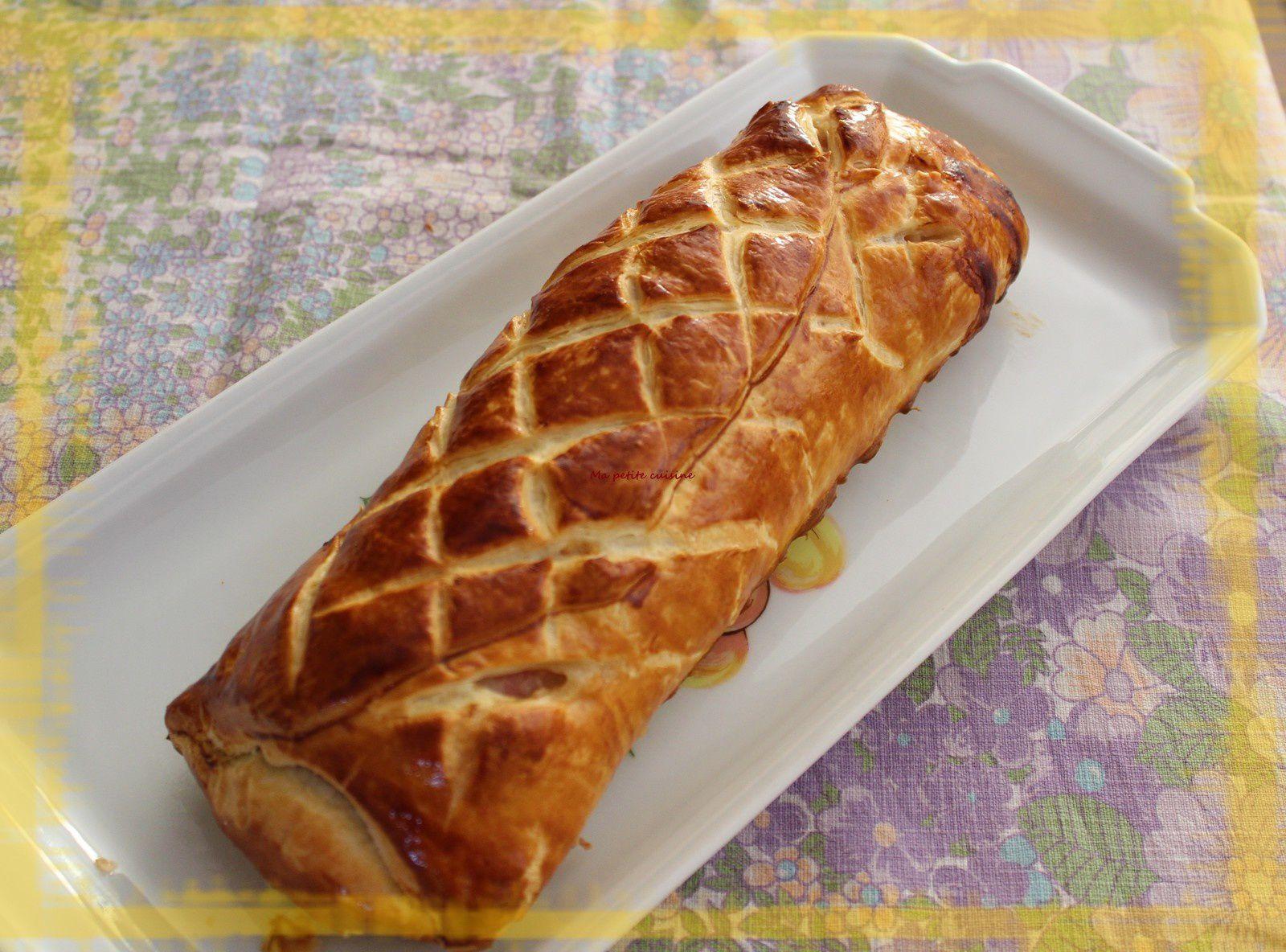 Filet mignon en croute feuilleté