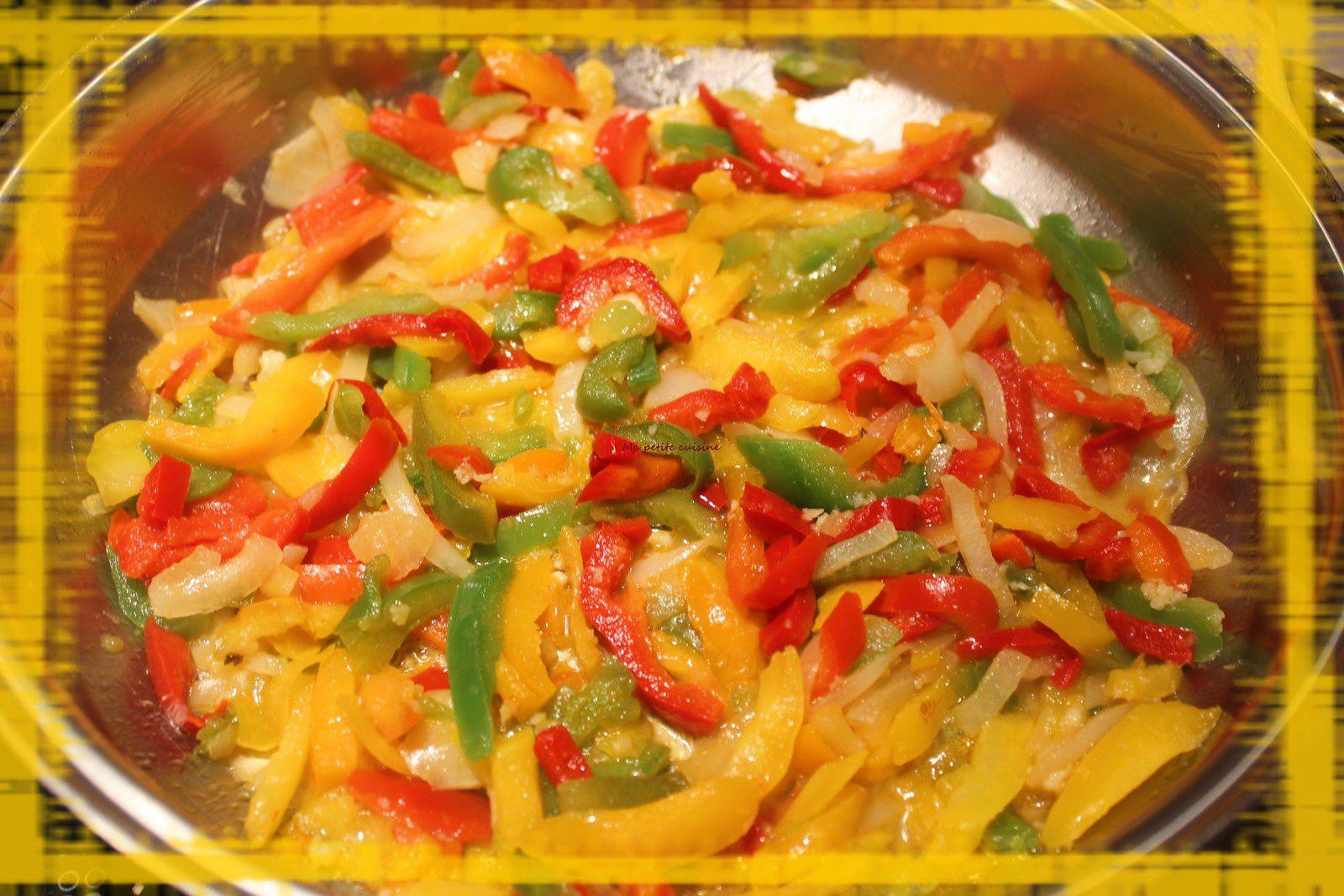 Steack haché en sauce tomate et légumes