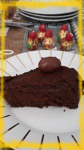 Gateau mousseux au chocolat