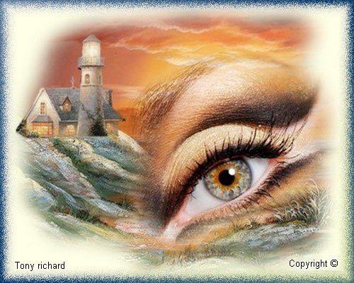 Dans mes silences Création par Tony richard pour le poème La magie de tes yeux. Tous droits réservés