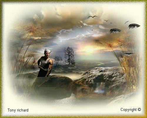 Des hiers aux demains Création par Tony richard pour le poème L'arbre grandit aussi. Tous droits réservés