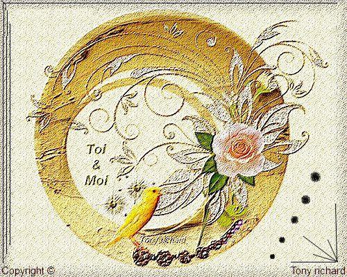 Toi & Moi Création par Tony richard pour le poème La poésie dans le coeur. Tous droits réservés