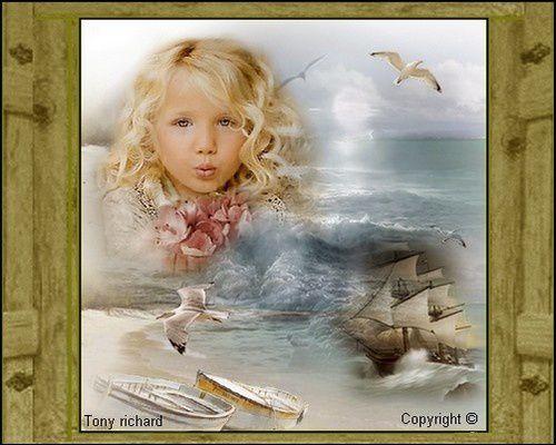 Création Copyright par Tony richard pour La petite fille par Tony richard. Tous droits réservés