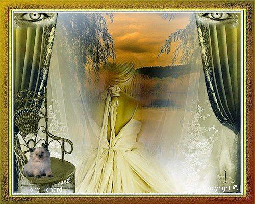 Création Copyright par Tony richard pour le poème Rêve salutaire. Tous droits réservés