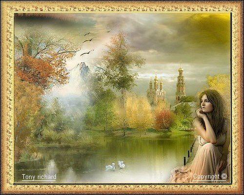Création Copyright par Tony richard pour L'automne s'habille de fête. Tous droits réservés