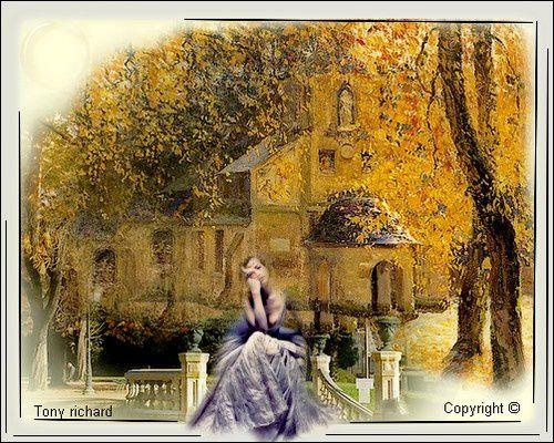 Nature de charme les yeux se pâment Création par Tony richard pour L'automne s'habille de fête. Tous droits réservés