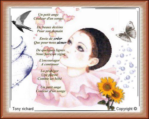 Création Copyright par Tony richard pour Mélina au bout de ses doigts. Tous droits réservés