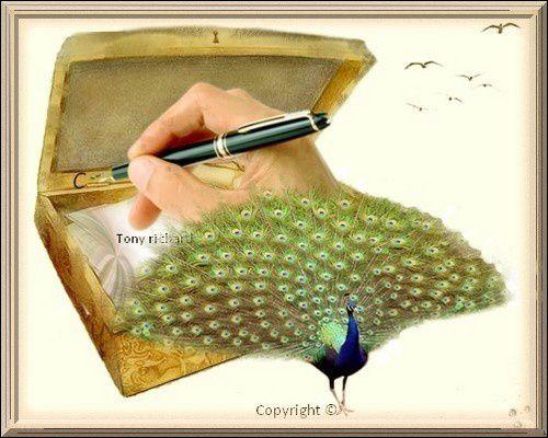 Coffret à lettres pour toi Création par Tony richard pour L'histoire fut belle. Tous droits réservés