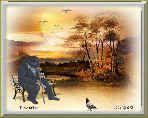 L'habit de noir en quête d'espoir Création par Tony richard pour La loi sans voix. Tous droits réservés