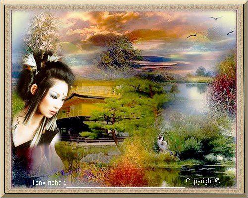 Création Copyright par Tony richard pour L'automne aux mille senteurs. Tous droits réservés