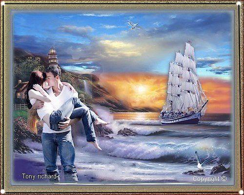 Création Copyright par Tony richard pour Le soleil et la mer partir. Tous droits réservés