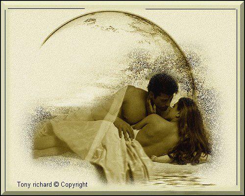 L'amour et ses reflets Création par Tony richard pour Nos différences est-ce une chance. Tous droits réservés