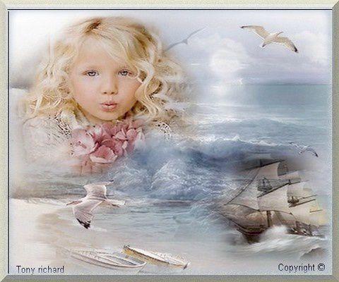 La petite fille aux boucles d'or Création par Tony richard pour La petite fille. Tous droits réservés