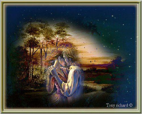 Les caresses du ciel Création par Tony richard pour Katia. Tous droits réservés