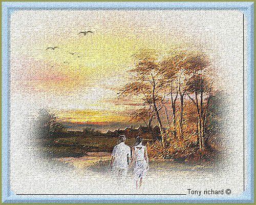 Le présent nous berce de l'avant Il nous laisse le temps de choisir nos moments. Création par Tony richard pour Le passé et le présent. Tous droits réservés