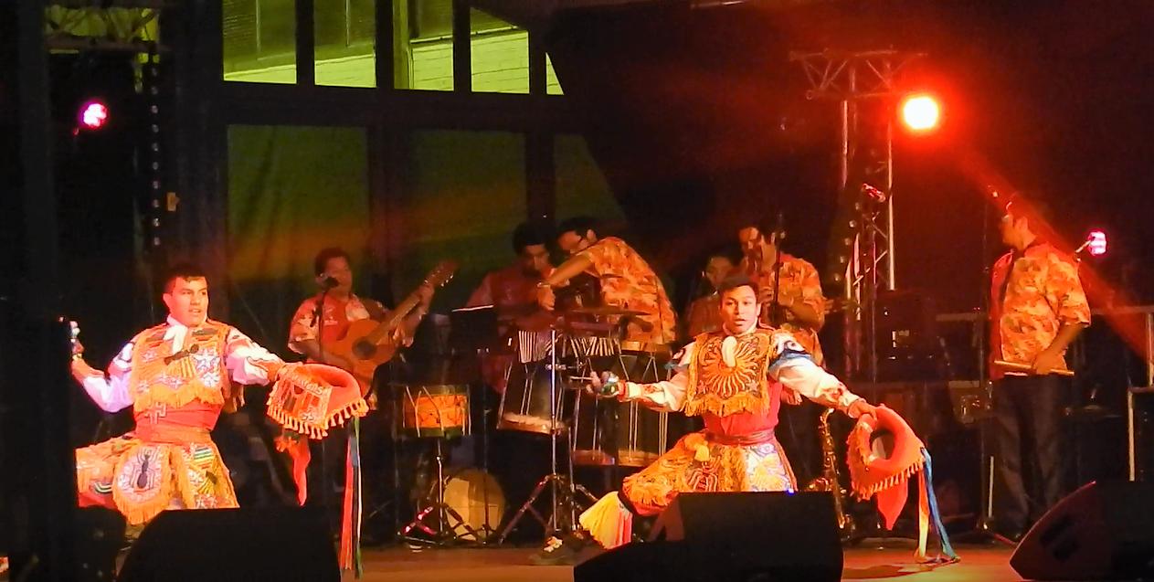 Groupe folklorique du Pérou