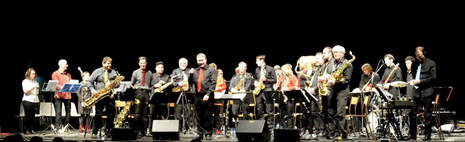 Le  Big Band en concert à l'Astral