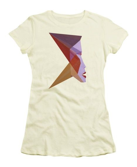 Tee-Shirt d'art - Profile F. Juniors T-Shirt.