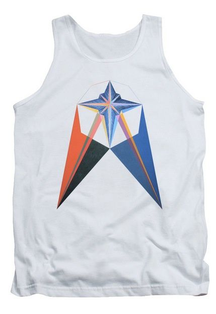 Tee-Shirt d'art - Radiance Tank Top.