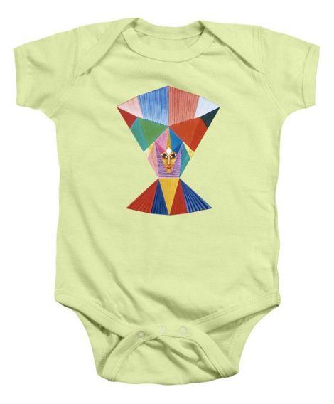 Tee-Shirt d'artiste - Countenance Baby Onesie et plus.