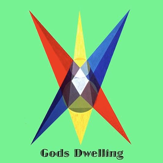 """Gods Dwelling"" text: Extract of painting ""La Maison de Dieu""."