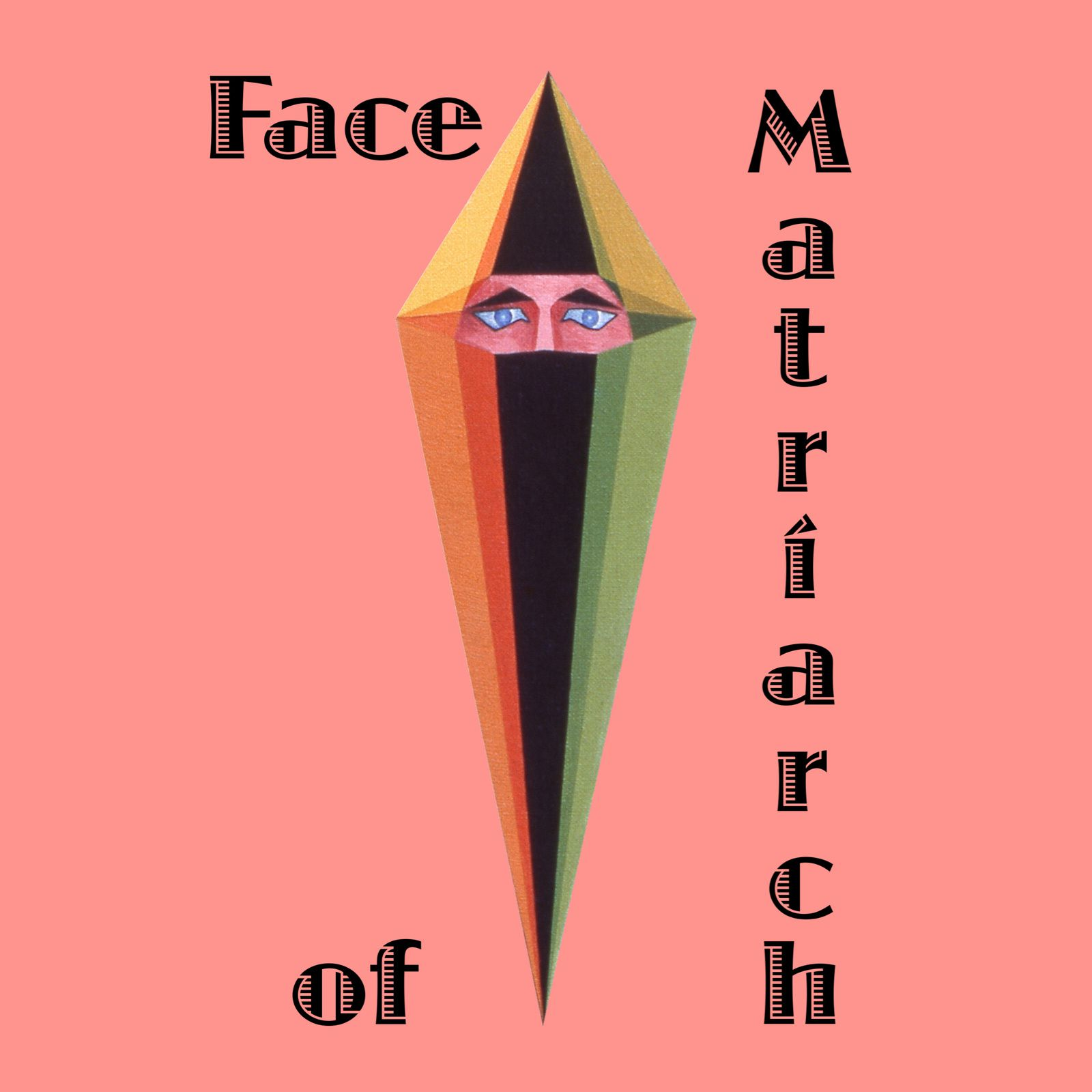 "Art collection-""Face of Matriarch"" text-Extract painting ""Matriarche""."