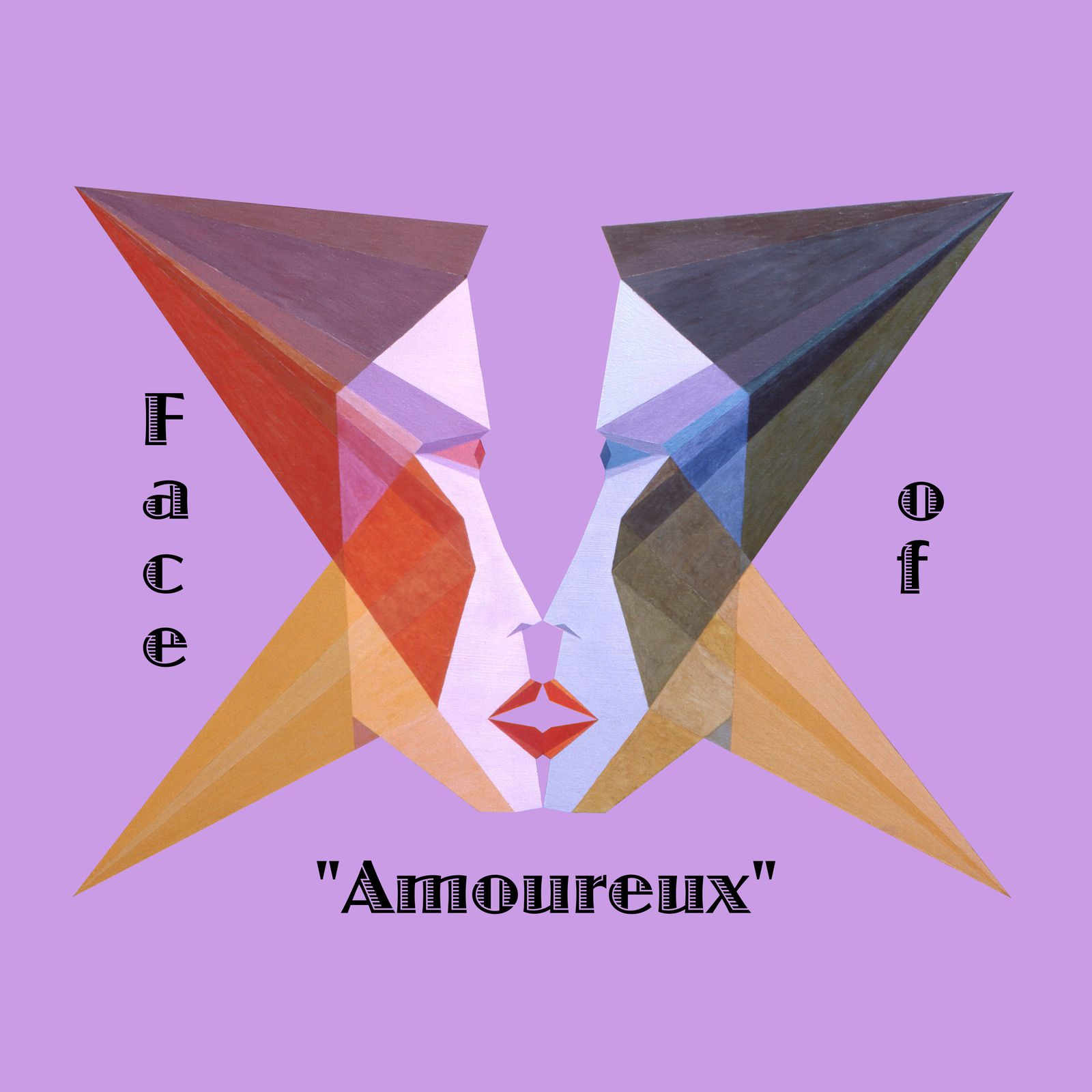 "Art panoply - ""Face of Amoureux"" tex - Prints."