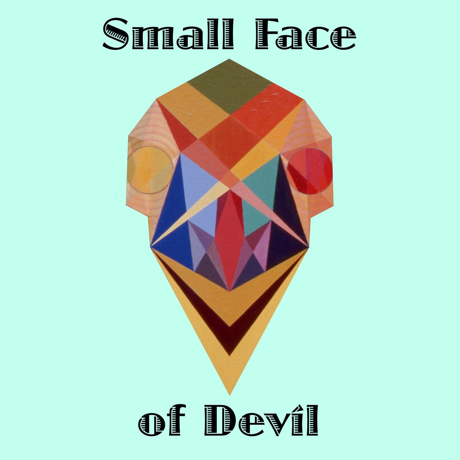 Art panoply. Tarot.Prints-Small Face of Devil.