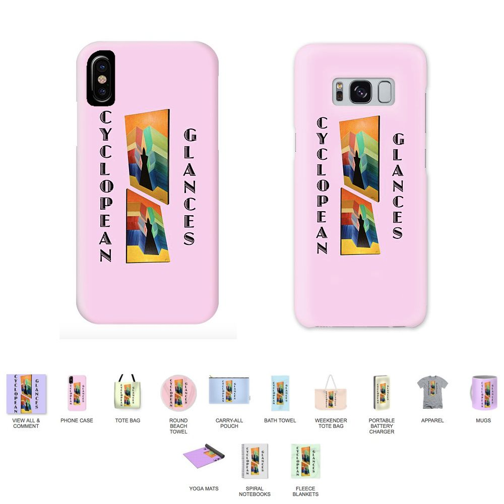 Example: Cyclopean Glances Patriarch IPhone X Case,Cyclopean Glances Patriarch Galaxy S8 Case  and all products.