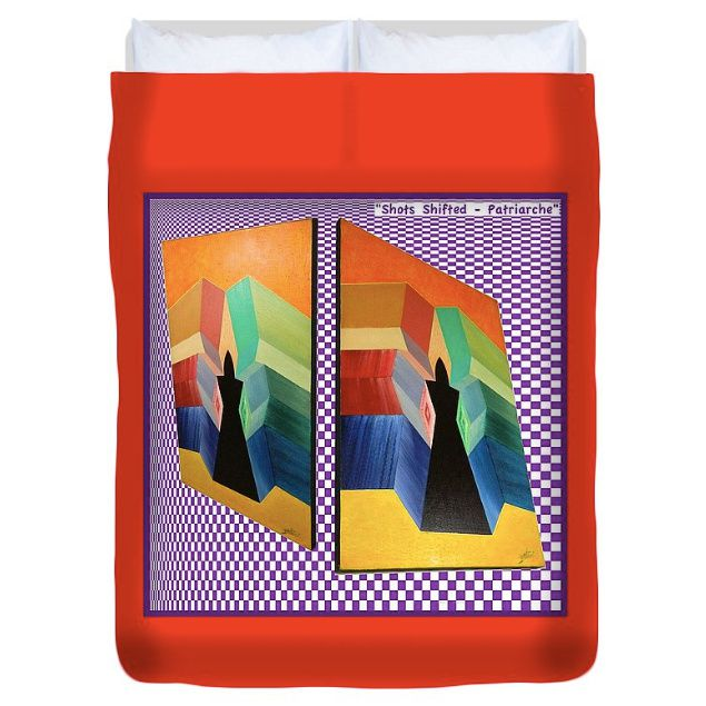 Art Panoply by Michaël BELLON - Duvet Cover
