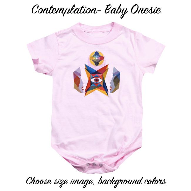 Art Panoply - Contemplation - Baby Onesie