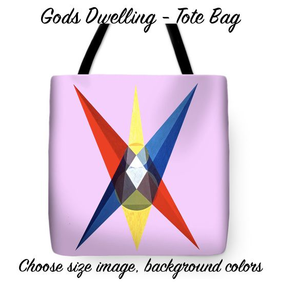 "Art Panoply - ""Gods Dwelling"" Tote Bag"