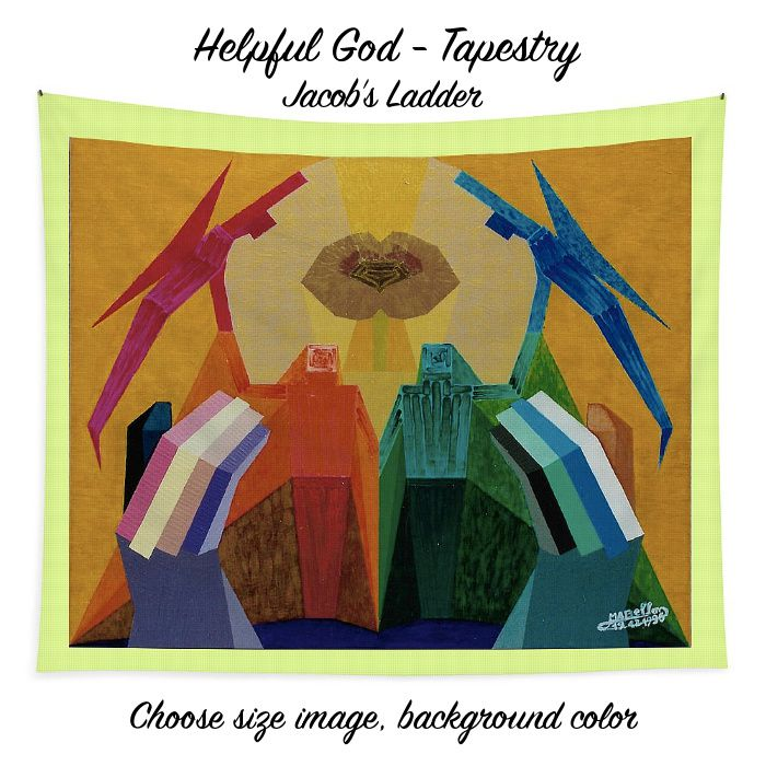 Art Panoply - Helpful God Tapestry