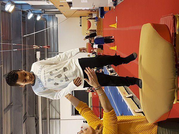 1ère rencontre USEP : gymnastique et jeux d'opposition