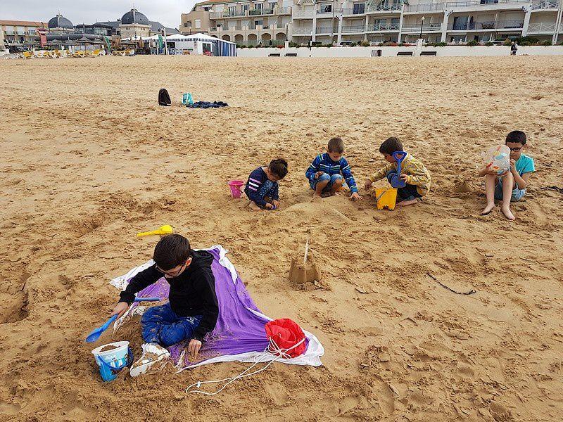 Sortie à la plage avec les CP/CE1/ULIS (suite)