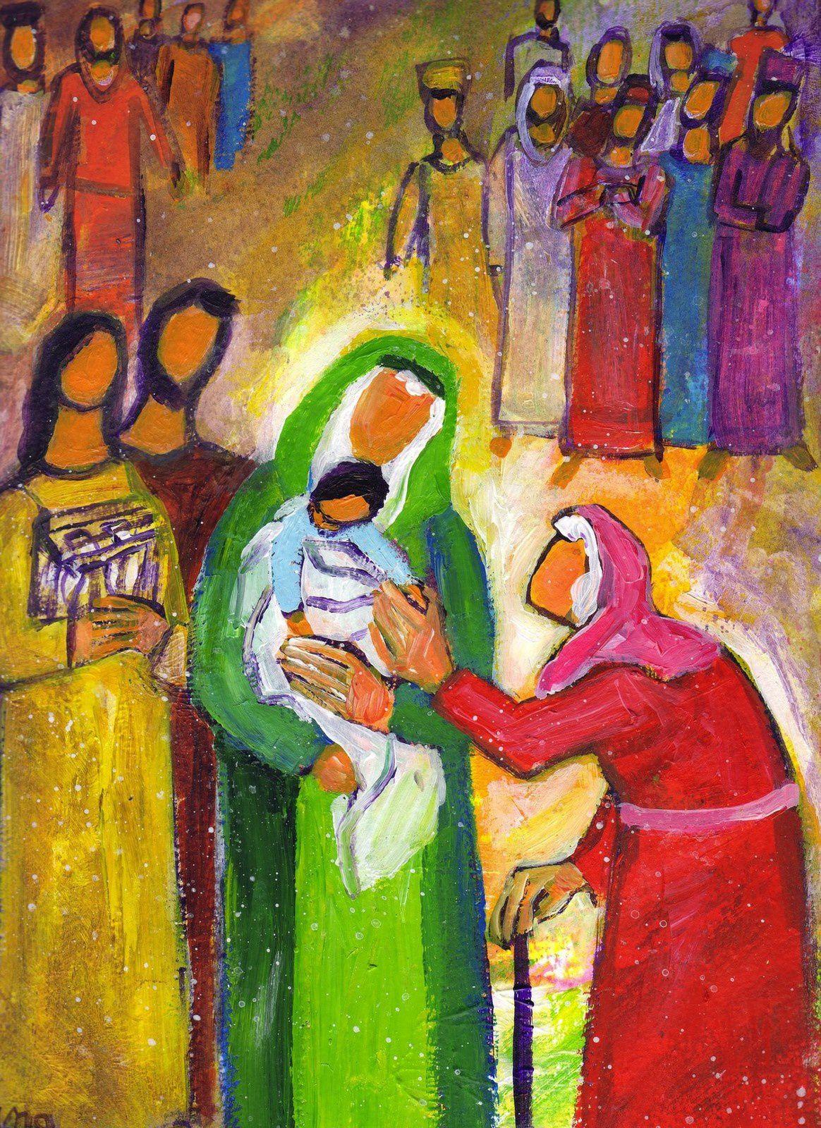 Quand fut accompli le temps prescrit par la loi de Moïse pour la purification, les parents de Jésus l'amenèrent à Jérusalem pour le présenter au Seigneur...