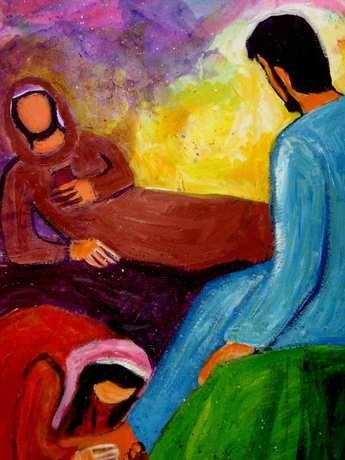 Que nous ressemblions davantage à cette femme pécheresse ou à ce Simon pécheur, peu importe...