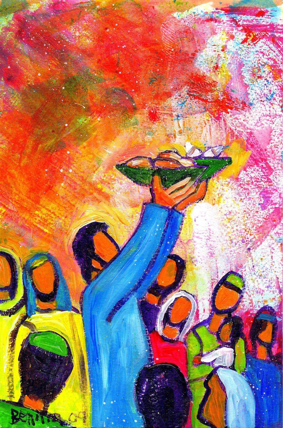 Le pain que Jésus donne n''est pas un pain éphémère mais une source permanente de vie.
