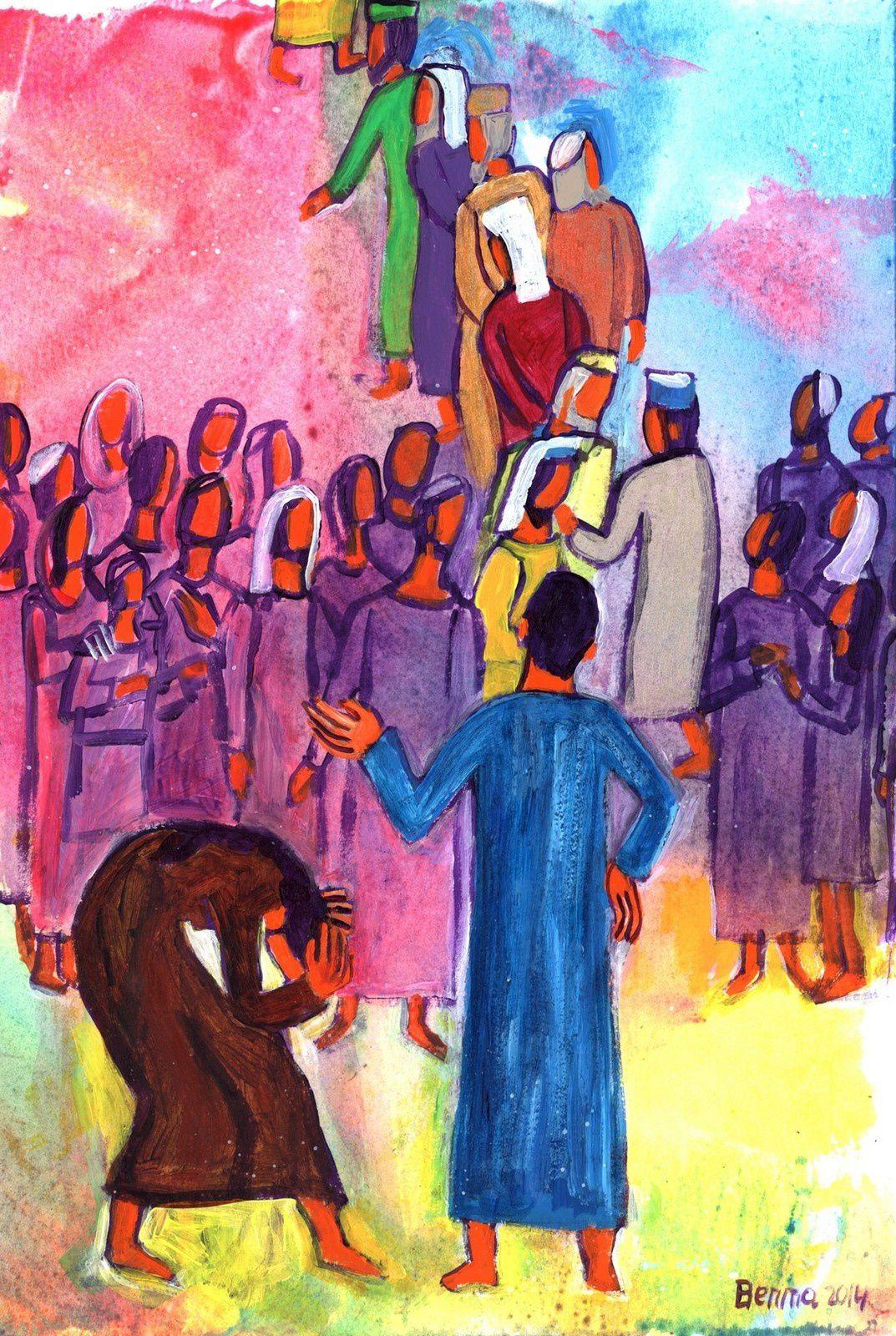 Le scandale de la miséricorde de Dieu est qu'elle est refusée par celui qui se considère juste, alors qu'elle est accueillie par ceux qui se reconnaissent pécheurs.