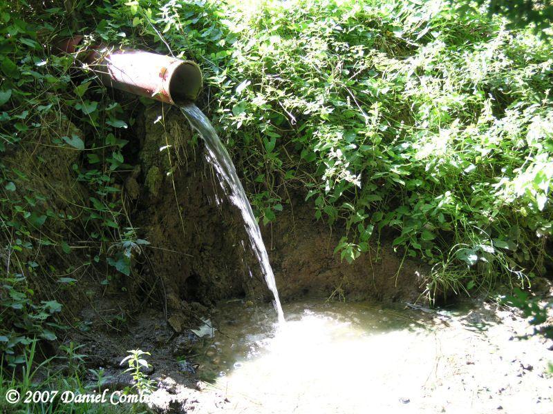 Parc du château de VILLARDELLE - Source de l'Ourcq !