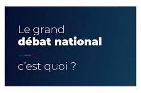 Un grand débat national… ça vous intéresse ?