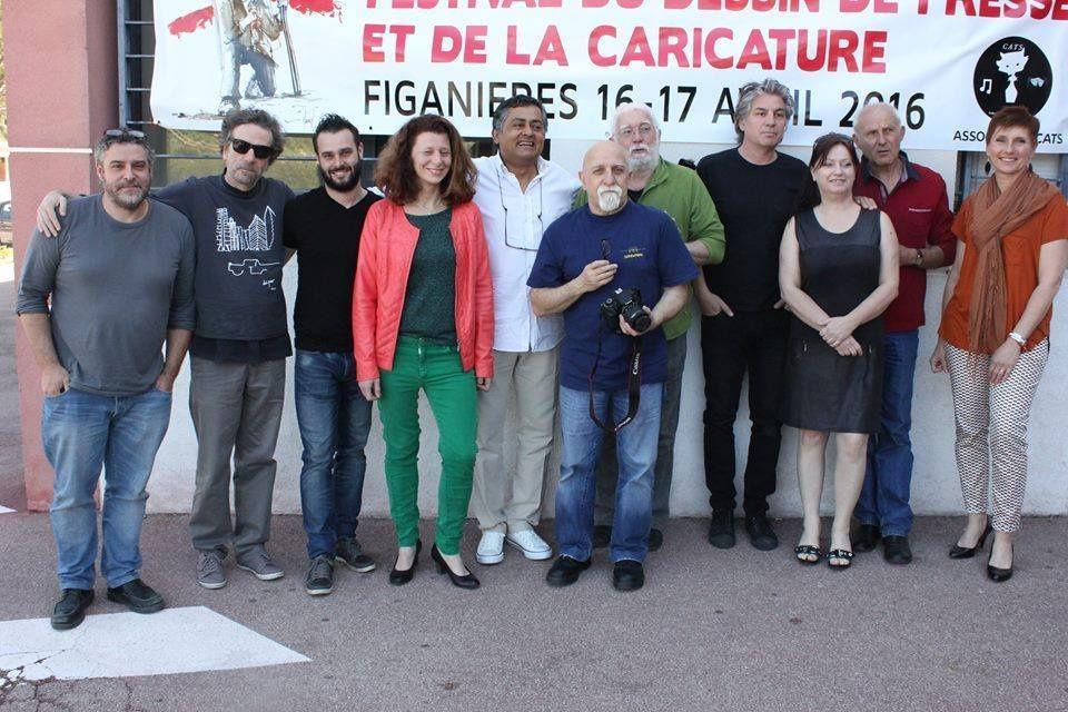 Souvenir du Festival de Figanières avec Serge Bileau ( avril 2016)