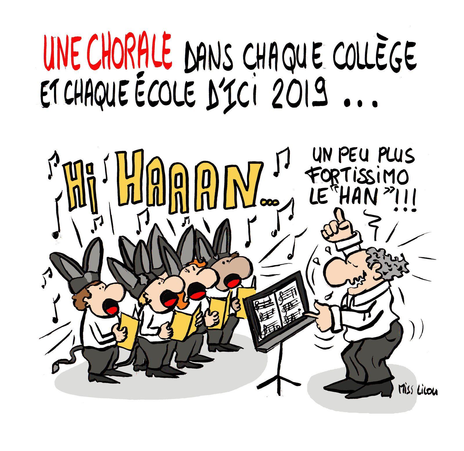 Une chorale dans chaque école et chaque collège d'ici 2019 annonce du Ministre de la Culture et du Ministre de l'Education Nationale