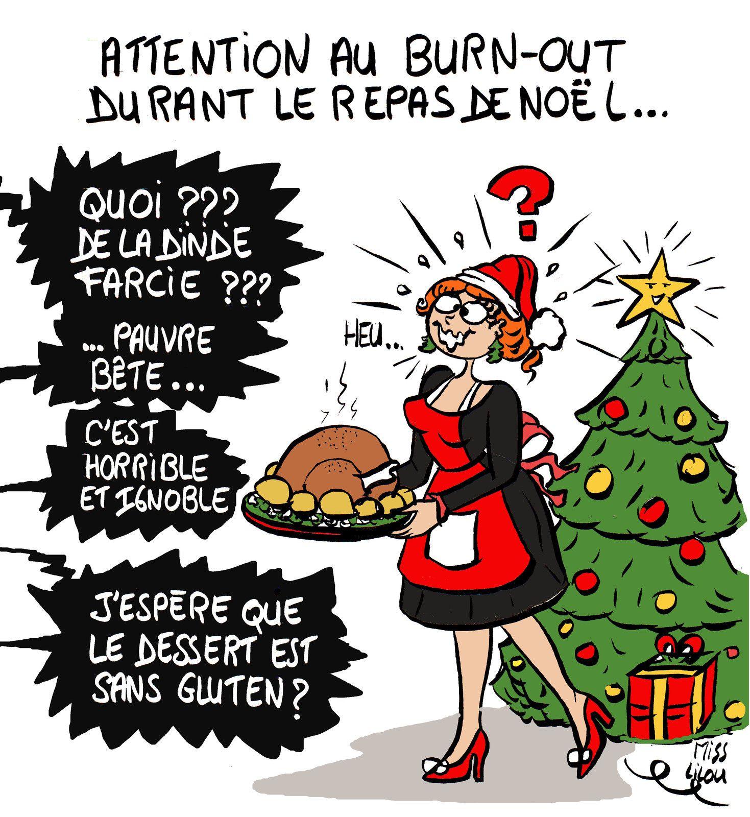 Attention au Burn-out durant le Repas de Noël !