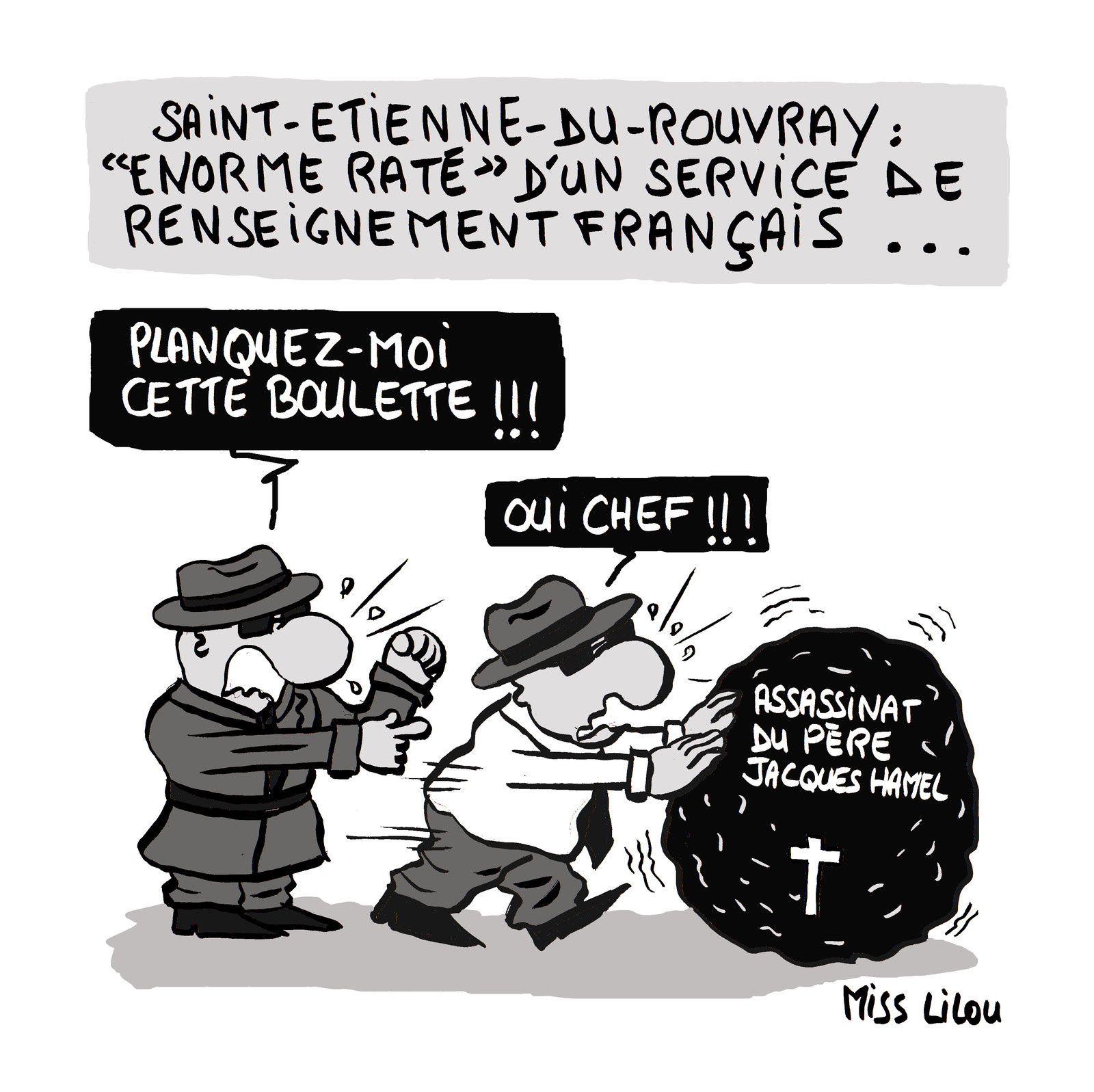 """Saint-Etienne de Rouvray : """"Enorme raté"""" d'un service de Renseignement français..."""