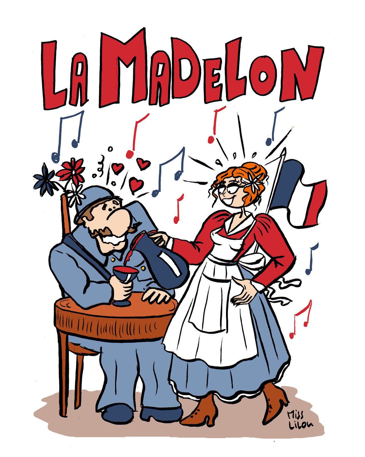 """Dessin spécial """"Poilus"""" : La Madelon..."""