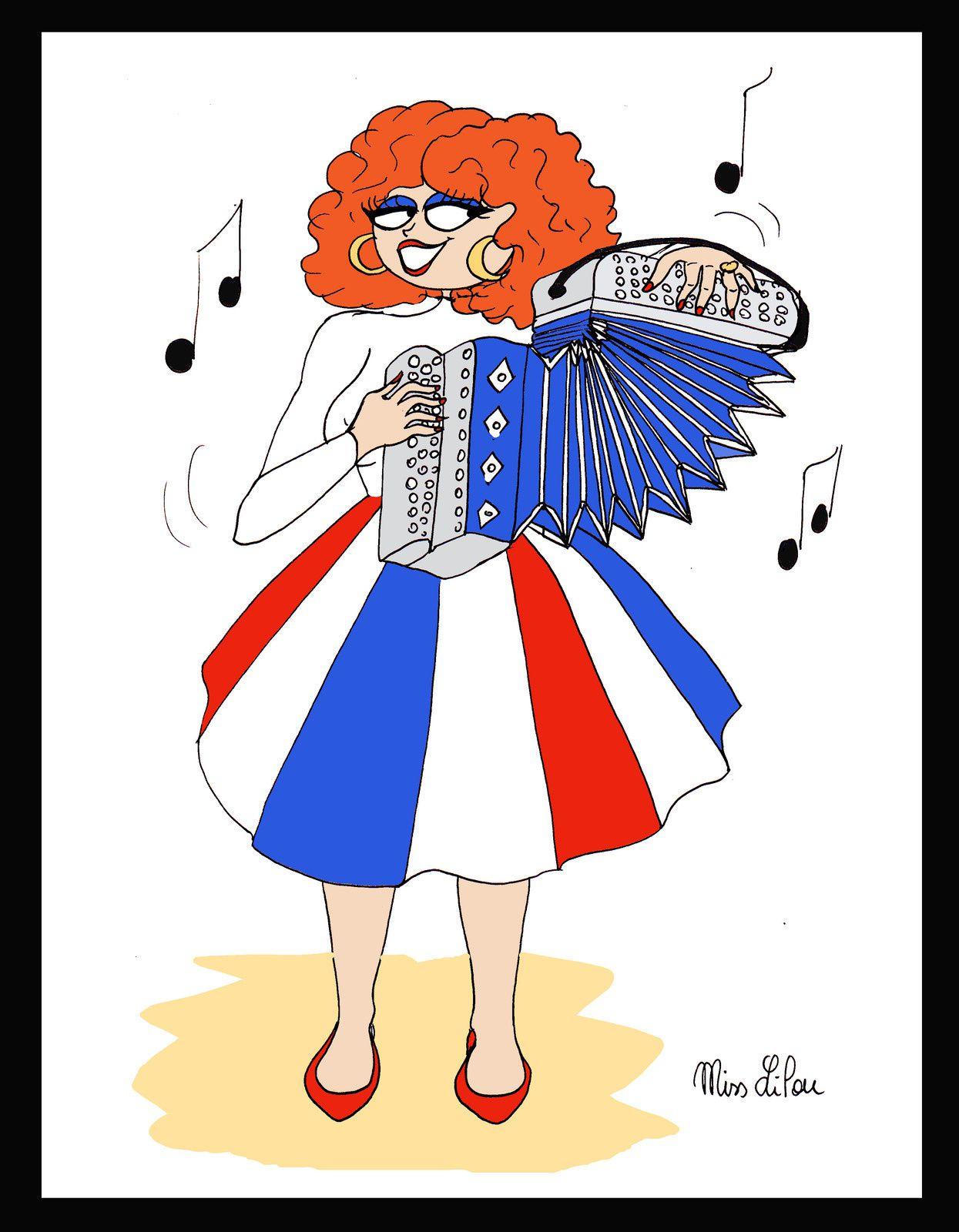 Eterna reina del bal-musette / Eternal queen of the bal-musette